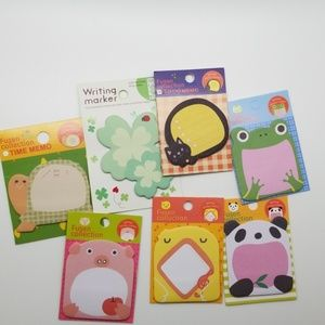 Other - Sticky Notes animal designs